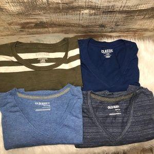 (4) Old Navy Men's T-Shirts